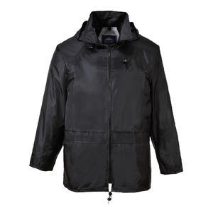 Bunda do deště classic, black | XL