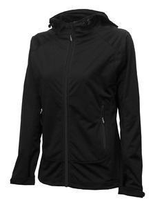 Softshellová bunda dámská, black | M