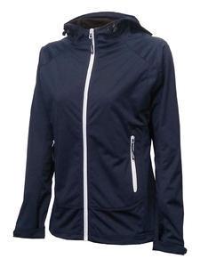 Softshellová bunda dámská, navy | S
