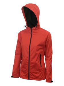 Softshellová bunda dámská, red | L