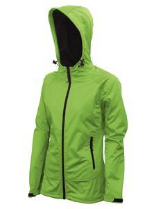 Softshellová bunda dámská 4barvy, green | XL