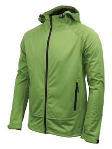 Softshellová bunda pánská, green | XL