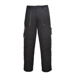Kalhoty Texo Contrast, black/ grey | S