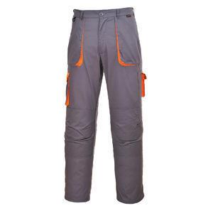 Kalhoty Texo Contrast, grey/ orange | L