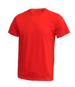 Tričko pánské 185g bez etikety 11barev, red | 3XL