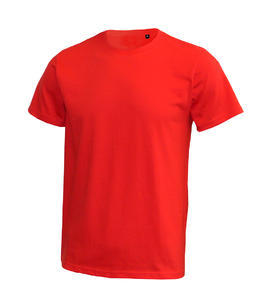 Tričko pánské krátký rukáv bez etikety, red | 3XL
