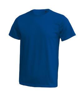 Tričko pánské krátký rukáv bez etikety, royal | 3XL