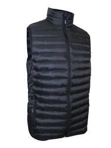 Vesta pánská zimní, black  |3XL - 1