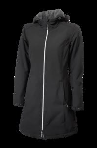 Softshellová bunda dámská/ kabát, black | L