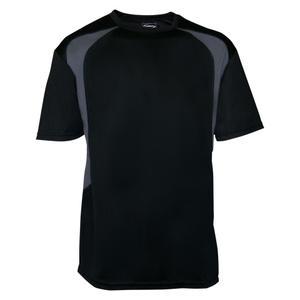 Tričko pánské krátký rukáv  sport, black | XXL