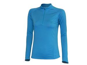 Tričko dámské dlouhý rukáv  sport, turquoise | XL