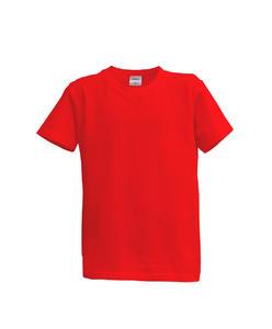 Tričko dětské krátký rukáv, red | XS