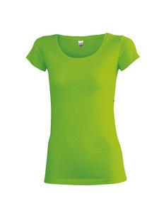 Tričko dámské krátký rukáv, flashgreen | S