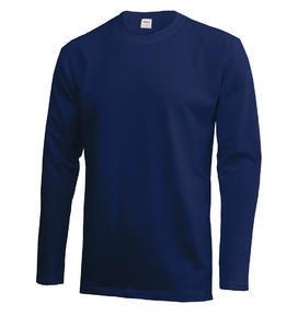 Tričko pánské dlouhý rukáv, lightnavy | XL