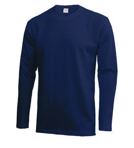 Tričko pánské dlouhý rukáv, lightnavy |3XL