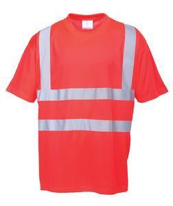 Tričko krátký rukáv hivis, red | 3XL
