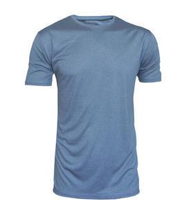 Tričko pánské funkční, grey melange | XL