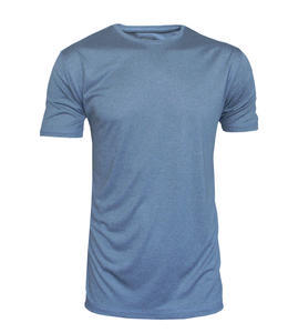 Tričko pánské funkční, grey melange | S