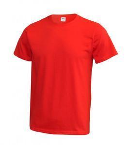 Tričko pánské krátký rukáv od vel. XS, red | XS