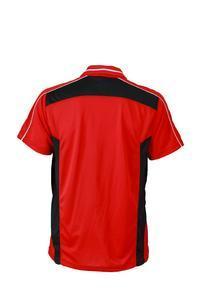 Polokošile pánská pracovní, red /black | M - 2