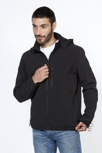 Softshellová bunda pánská, black | L - 2
