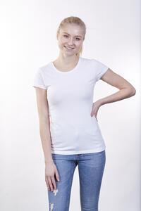 Tričko dámské krátký rukáv, white | M - 2