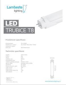 LED T8  9W,  T8-L9 - 2