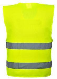 Reflexní vesta s 2 pruhy, yellow | L/XL - 2