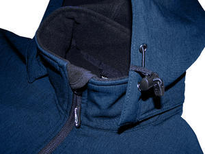 Softshellová bunda pánská, navy-melange | 3XL - 3