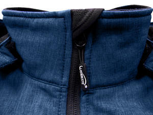 Softshellová bunda dámská, navy-melange | S - 3