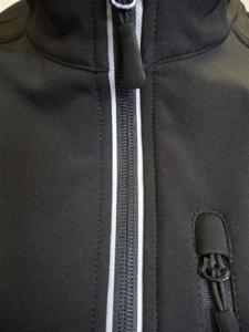 Softshellová vesta dámská, black | S - 3
