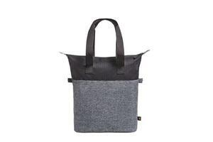 Shopper elegance, black / greysprinkle - 3