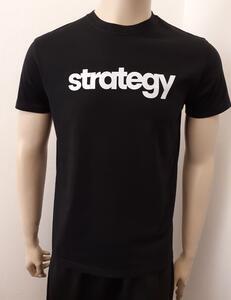 Tričko pánské s nápisem / více druhů, black STRATEGY | XL - 3