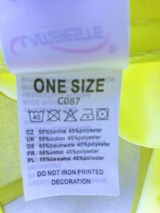 Čepice kšiltovka, neon yellow - 3