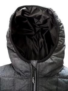 Bunda pánská combi pletený fleece, anthracite-melange/ black-melange | XXL - 3