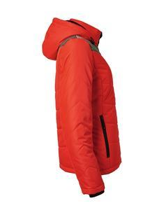 Bunda dámská zimní, red/ anthracite-melange | L - 3