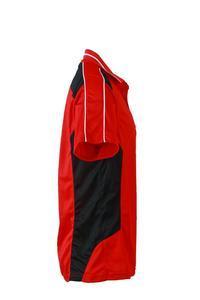 Polokošile pánská pracovní, red /black | M - 3