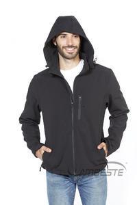 Softshellová bunda pánská, black | L - 3