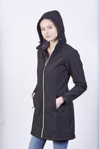 Softshellová bunda dámská/ kabát - 3