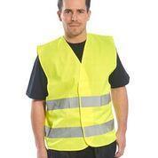 Reflexní vesta s 2 pruhy, yellow | L/XL - 3