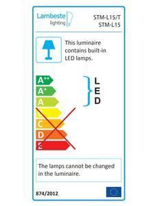LED MILANO 15W stropní svítidlo teplá - 3