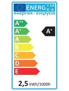 LED E14 2,5W teplá - 3