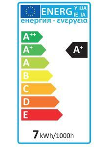 LED E27  7W Teplá - 3