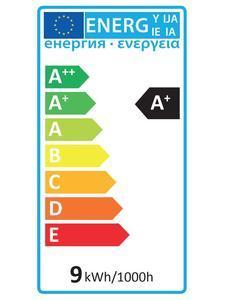 LED E27  9W Teplá - 3