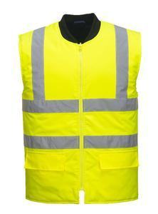 Bunda 4v1 pracovní, yellow | L - 3