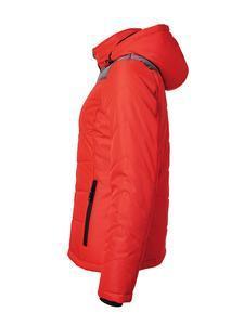 Bunda dámská zimní, red/ anthracite-melange | L - 4