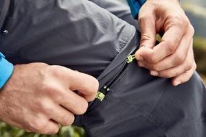 Kalhoty pánské odepínací treking - 4