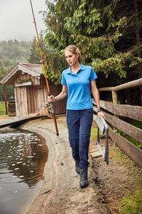 Kalhoty dámské odepínací treking, black | S - 4