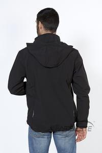 Softshellová bunda pánská, black | L - 4