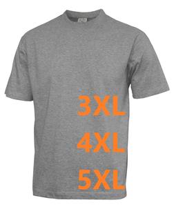 Tričko pánské krátký rukáv nadměrné velikosti - 4